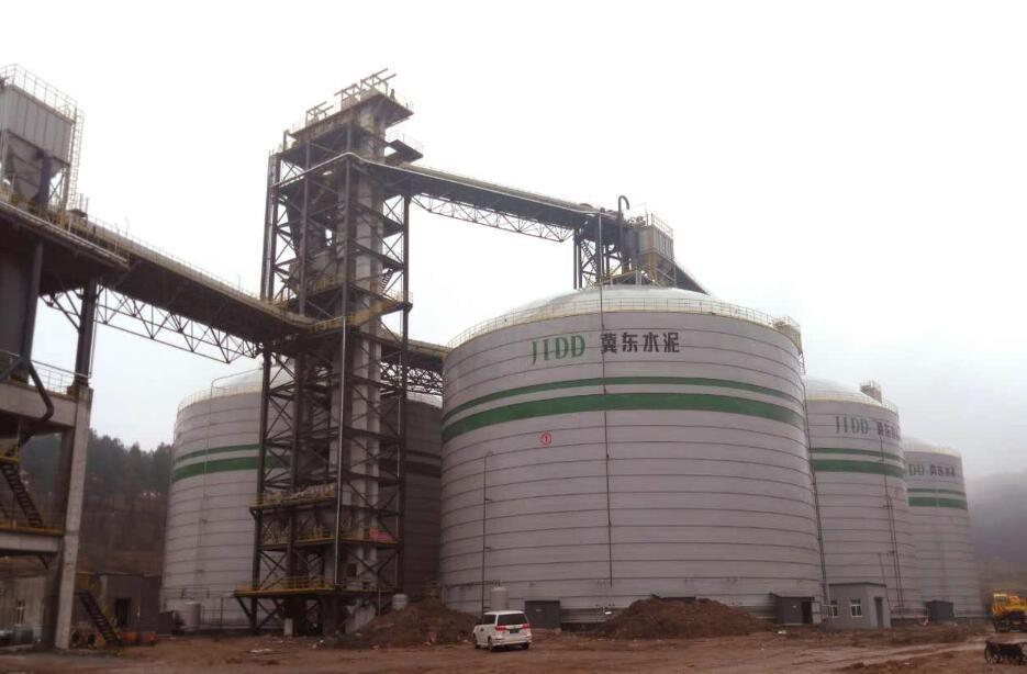 6×3万m³水泥钢板库仓