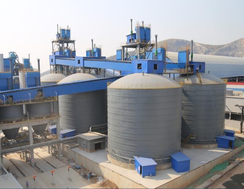 4×8000m³水泥钢板库
